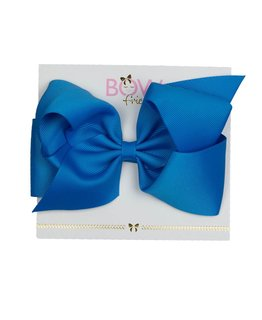 BOW FRIENDS BLUE HAIR BOW