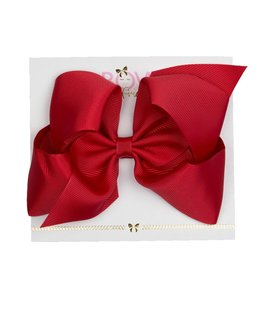 BOW FRIENDS RED HAIR BOW