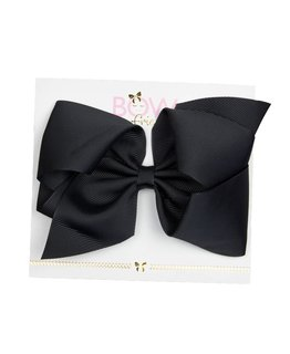 BOW FRIENDS BLACK HAIR BOW