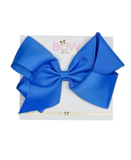 BOW FRIENDS ROYAL BLUE HAIR BOW