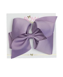 BOW FRIENDS MAUVE HAIR BOW