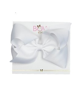 BOW FRIENDS WHITE HAIR BOW