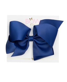 BOW FRIENDS NAVY HAIR BOW