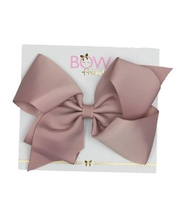 BOW FRIENDS DARK BLUSH HAIR BOW