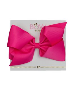 BOW FRIENDS FUSCHIA HAIR BOW