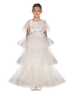 LITTLE MISS AOKI TRIPLE LAYERED DRESS