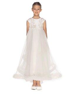 LITTLE MISS AOKI GIRLS EMPIRE DRESS