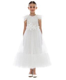 LITTLE MISS AOKI GIRLS T-LENGTH DRESS