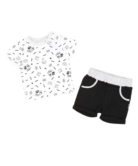 KARL LAGERFELD KIDS KARL LAGERFELD KIDS BABY BOYS TEE & SHORT SET