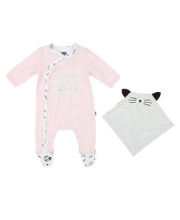 KARL LAGERFELD KIDS BABY GIRLS ONESIE