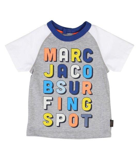 LITTLE MARC JACOBS LITTLE MARC JACOBS BABY BOYS TEE SHIRT