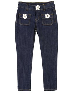 LITTLE MARC JACOBS GIRLS DENIM
