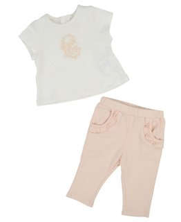 CHLOÉ BABY GIRLS TOP & PANT SET