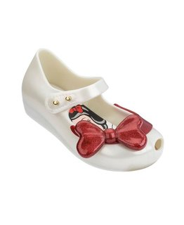 MINI MELISSA ULTRAGIRL SNOW WHITE FLATS