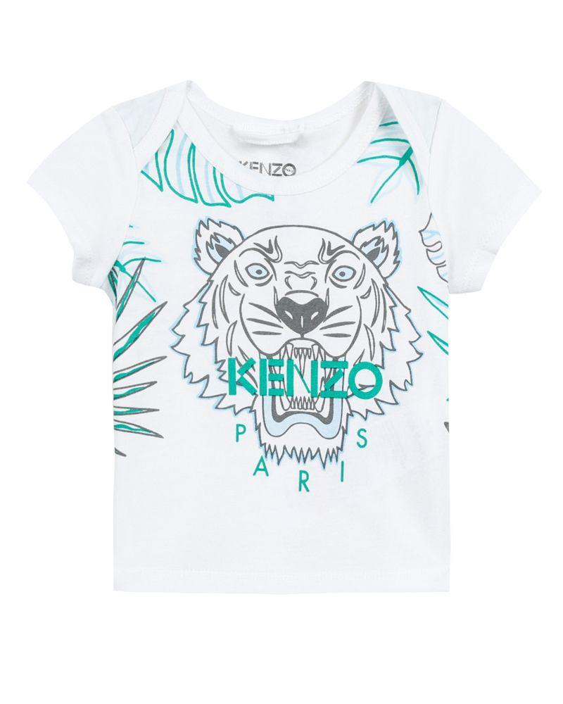 64432e89 KENZO KIDS KENZO KIDS BABY BOYS TEE SHIRT - Designer Kids Wear