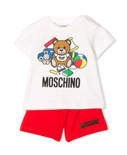 MOSCHINO BABY BOYS TOP & SHORT SET
