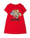 MOSCHINO MOSCHINO BABY GIRLS DRESS