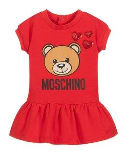 MOSCHINO BABY GIRLS DRESS