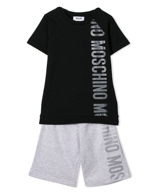 MOSCHINO MOSCHINO BOYS TOP & SHORT SET
