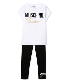 MOSCHINO GIRLS TOP & LEGGING SET