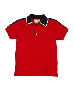 GUCCI BOYS POLO