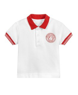 YOUNG VERSACE BABY BOYS POLO