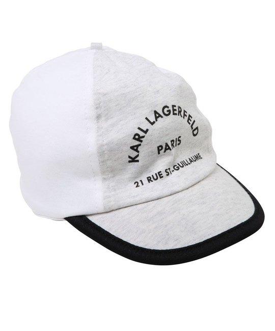 KARL LAGERFELD KIDS KARL LAGERFELD KIDS BABY UNISEX CAP