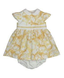 YOUNG VERSACE BABY GIRLS DRESS