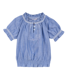 LILI GAUFRETTE GIRLS TOP