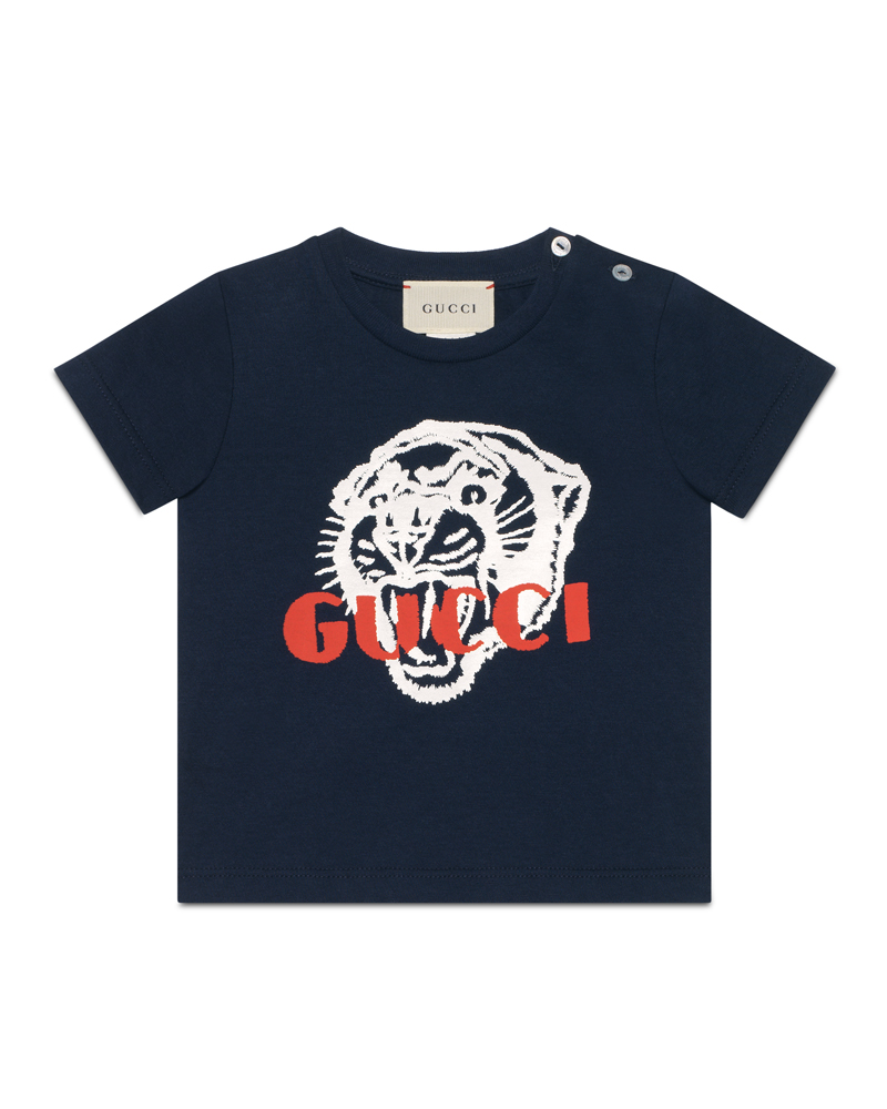 bb9691c31c3 GUCCI GUCCI BABY BOYS TEE SHIRT - Designer Kids Wear