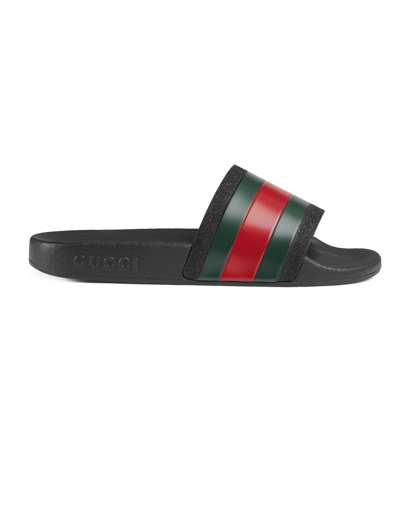 7d50a532c73 GUCCI GUCCI JUNIOR PURSUIT SLIDES - Designer Kids Wear