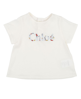 CHLOÉ BABY GIRLS TEE SHIRT