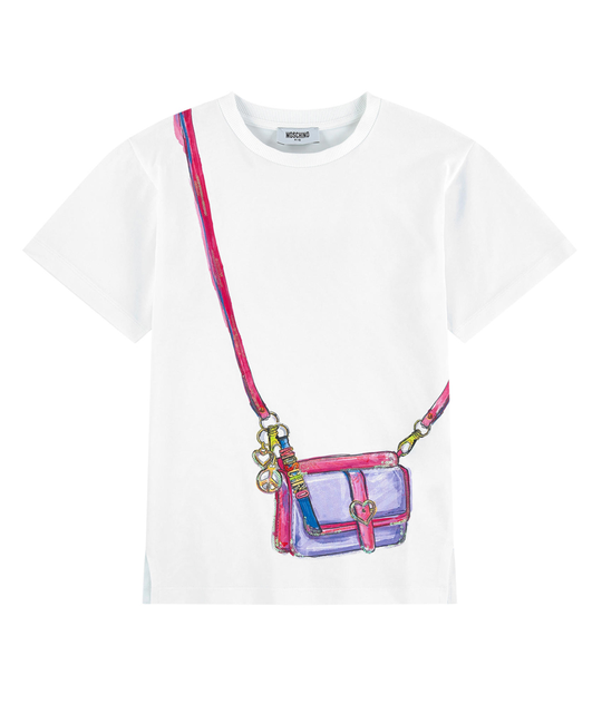 MOSCHINO MOSCHINO GIRLS TEE SHIRT