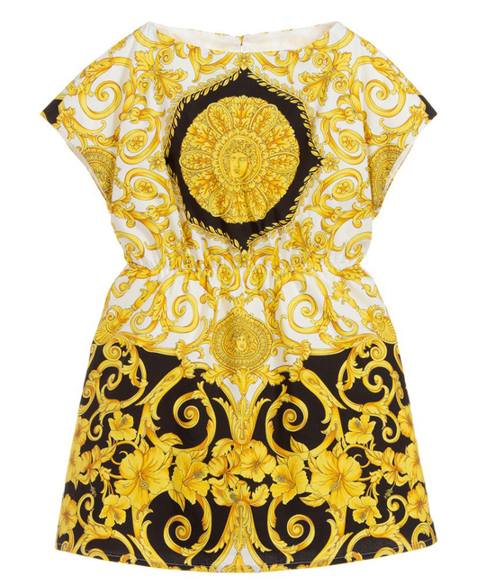 YOUNG VERSACE YOUNG VERSACE GIRLS DRESS
