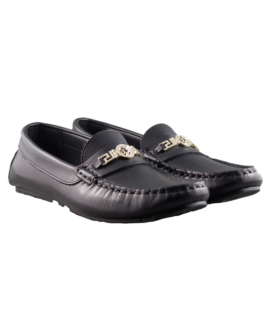 YOUNG VERSACE YOUNG VERSACE BOYS LOAFERS