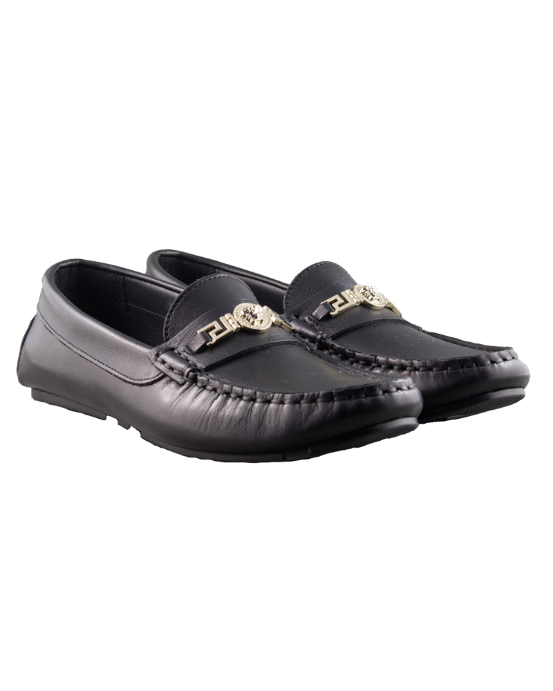 half off de98e 22255 YOUNG VERSACE YOUNG VERSACE BOYS LOAFERS
