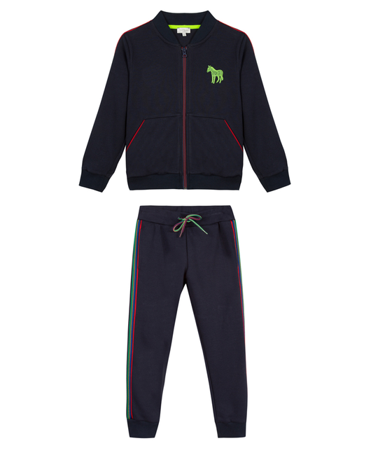 PAUL SMITH JUNIOR PAUL SMITH JUNIOR BOYS JOGGING SUIT