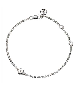 MOLLY BROWN LONDON APRIL BIRTHSTONE BRACELET-DIAMOND