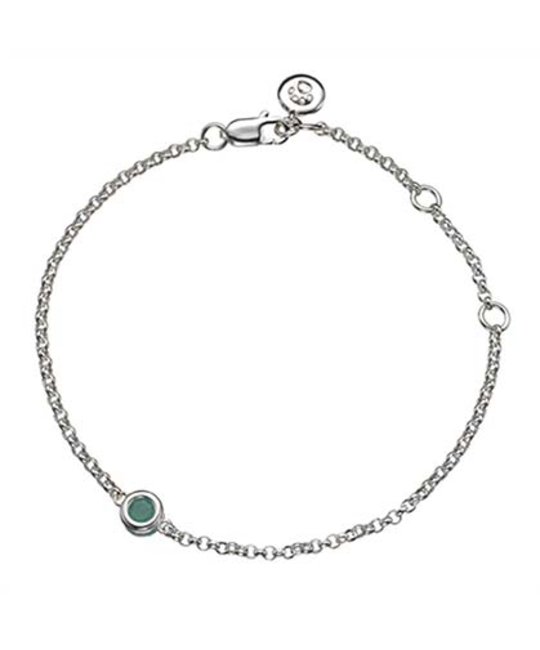 MOLLY BROWN LONDON MOLLY BROWN LONDON MAY BIRTHSTONE BRACELET-EMERALD