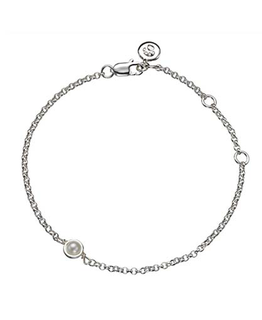 MOLLY BROWN LONDON JUNE BIRTHSTONE BRACELET-PEARL