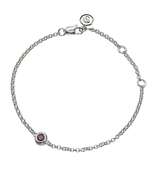 MOLLY BROWN LONDON MOLLY BROWN LONDON JULY BIRTHSTONE BRACELET-RUBY