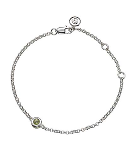 MOLLY BROWN LONDON AUGUST BIRTHSTONE BRACELET-PERIDOT