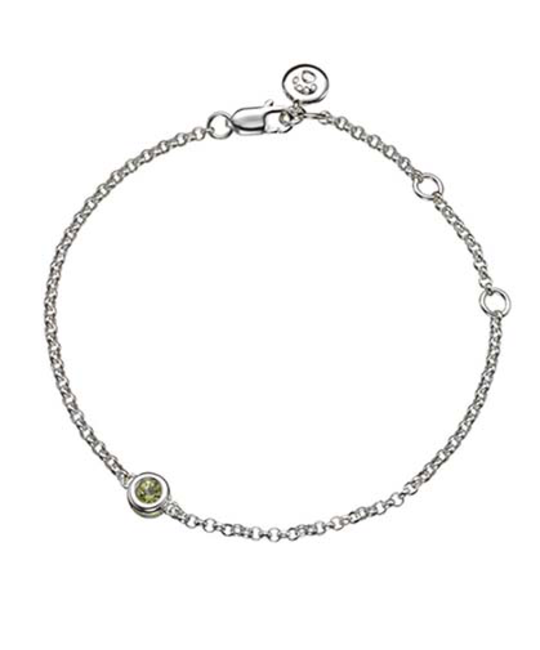 MOLLY BROWN LONDON MOLLY BROWN LONDON AUGUST BIRTHSTONE BRACELET-PERIDOT