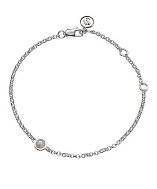 MOLLY BROWN LONDON MOLLY BROWN LONDON OCTOBER BIRTHSTONE BRACELET-OPAL