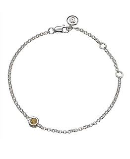 MOLLY BROWN LONDON NOVEMBER BIRTHSTONE BRACELET-CITRINE