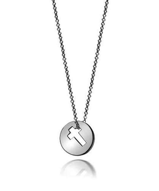 MOLLY BROWN LONDON MOLLY BROWN LONDON HOPE OPEN CROSS NECKLACE