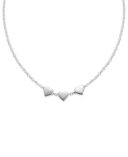 MOLLY BROWN LONDON STERLING SILVER HEART NECKLACE