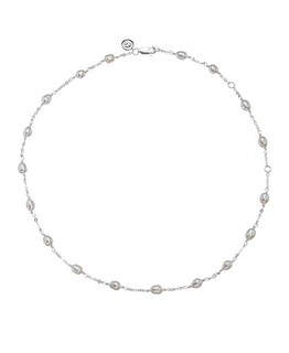 MOLLY BROWN LONDON PEARL STATION NECKLACE
