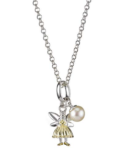 MOLLY BROWN LONDON GOLD FAIRY WISH NECKLACE