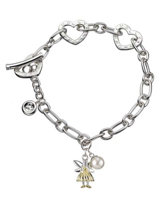MOLLY BROWN LONDON MOLLY BROWN LONDON GOLD FAIRY WISH BRACELET
